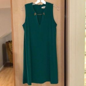 Calvin Klein dress, perfect for St. Pattty's Day!